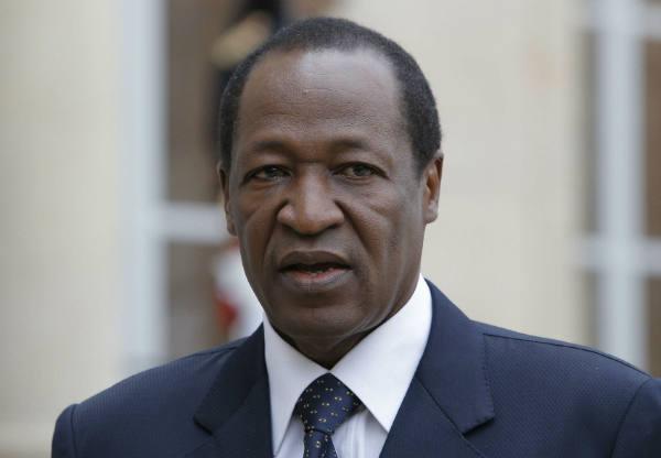 L'ancien président burkinabè, Blaise Compaoré.