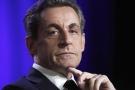 Nicolas Sarkozy, le 24 mars 2015,  à Asnières (France).
