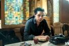 Ahmed Hassan dans un café, au Caire