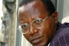 Floribert Chebeya, défenseur des droits de l'homme et président de l'ONG congolaise La Voix des sans voix, le 7 avril 2005 à Bruxelles.
