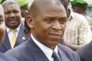 Agathon Rwasa, le leader du Congrès national pour la liberté (CNL), à son retour au Burundi en 2008 après vingt ans d'exil.