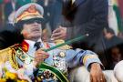 L'ancien maître de Tripoli, Mouammar Kadhafi.
