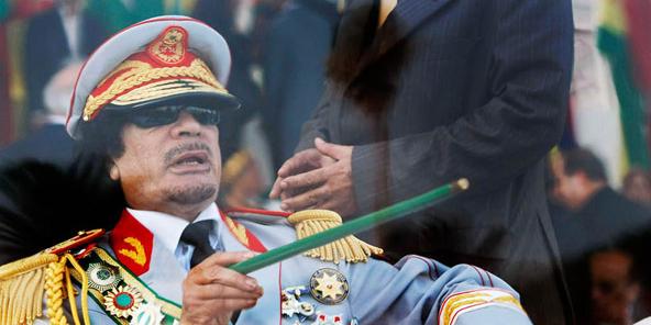 L'ex mestre de Trípoli, Muammar Kadhafi.