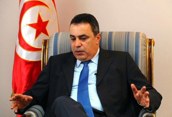 Mehdi Jomâa, ex-chef du gouvernement tunisien.