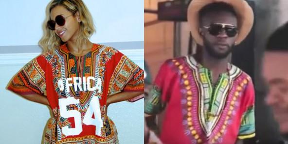 Mode  lépopée du « dashiki » \u2013 « Ya Mado », de Beyonce à Fabregas et de Kinshasa à New York
