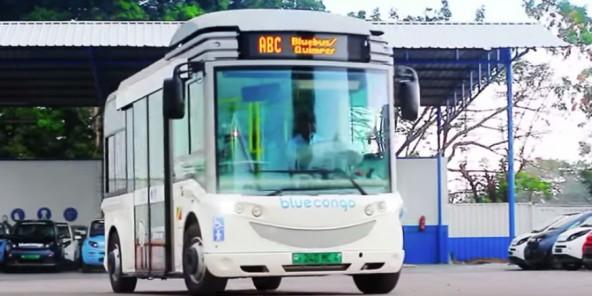 Congo : les bus électriques de Bolloré s'installent à Brazza et Pointe-Noire