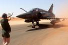 Un Mirage 2000 français à Niamey, au Niger, d'où partent les avions menant des frappes aériennes dans tout le Sahel.
