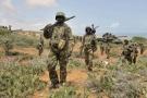 Des soldats de l'Amisom, en Somalie, le 5 octobre 2014.
