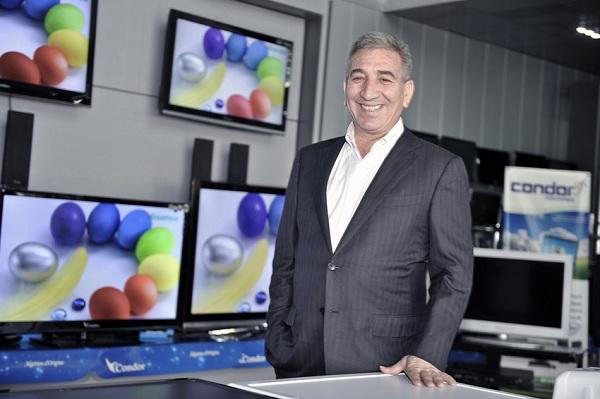 Abderrahmane Benhamadi, le PDG de Condor, numéro un algérien de l'électroménager et de l'électronique grand public.