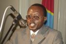 Floribert Chebeya lors d'un séminaire à Kinshasa en janvier 2010.