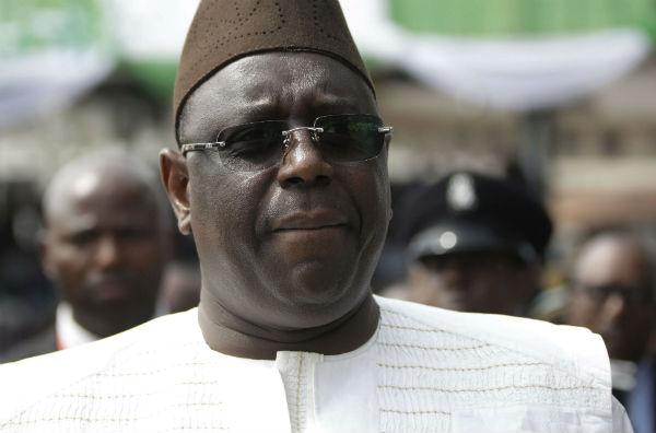 Le président sénégalais Macky Sall