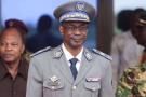Le général Gilbert Diendéré à l'aéroport de Ouagadougou, le 18 septembre 2015.