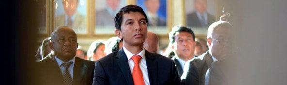 Andry Rajoelina (AFP)