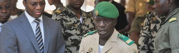 Amadou Haya Sanogo (AFP)