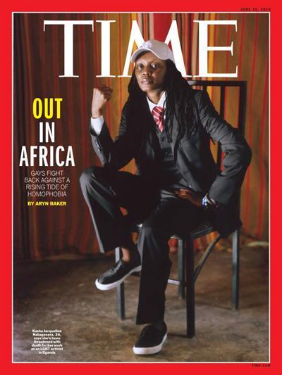 Couverture du Time Magazine.