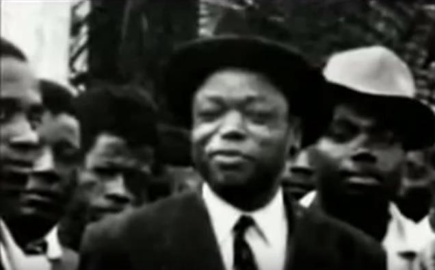 Ruben Um Nyobe, leader historique de l'UPC.