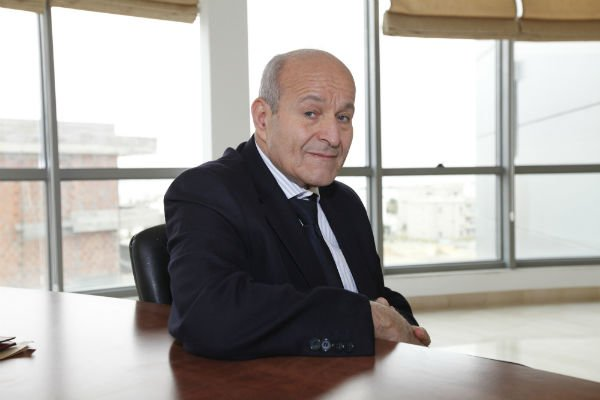 Issad Rebrab, patron de Cevital, à Tunis le 13 mars 2013