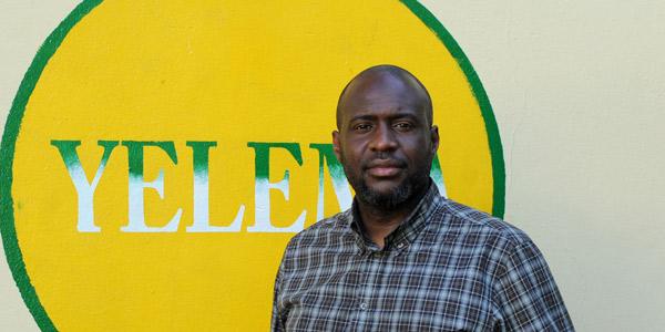 Moussa Mara, leader du parti Yéléma, le 6 août 2013 à Bamako.