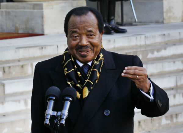 Le président du Cameroun, Paul Biya.