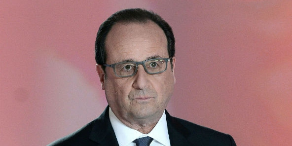 François Hollande à Paris, le 14 Avril 2016.