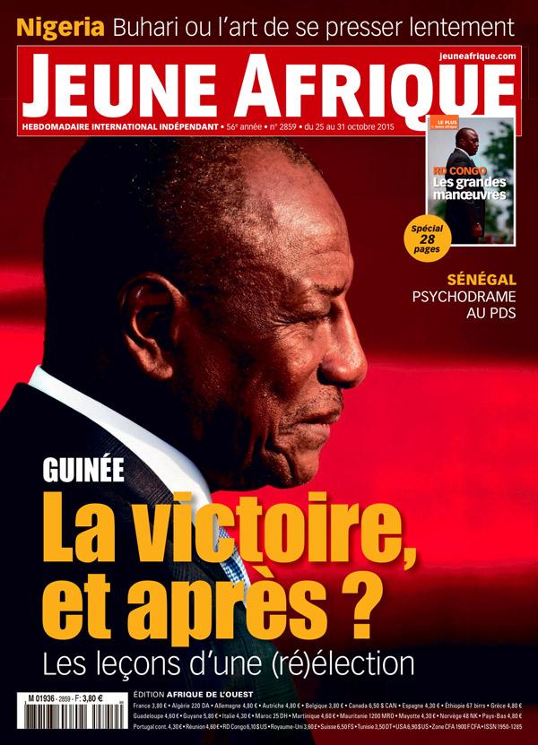 Couverture de Jeune Afrique n°2859