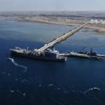 Le terminal pétrolier de Doraleh à Djibouti en janvier 2015