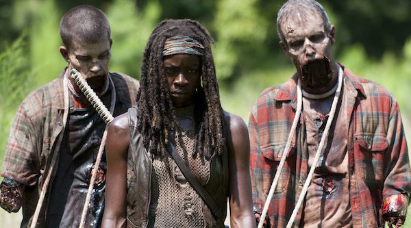 Michonne-and-her-walkers
