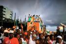 À Abidjan, le 23 octobre, avant-veille du scrutin.