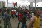 Manifestation de Biafrais, le 10 novembre 2015, à Port-Harcourt.