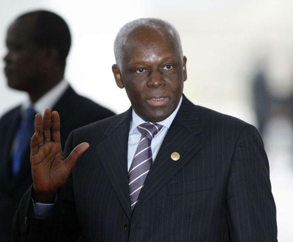 L'ancien président angolais José Eduardo dos Santos, en décembre 2007 à Lisbonne.
