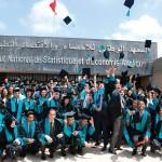Diplômés de l'Institut national de statistiques et d'économie appliquée de Rabat.