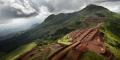 Vue du gisement du Simandou en Guinée.