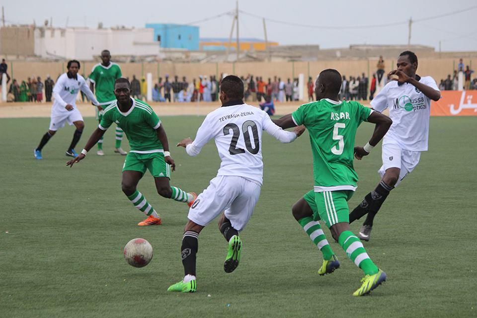 Image de la finale de la Supercoupe de Mauritanie en 2015.