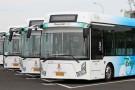 Bus électriques utilisés pendant les jeux olympiques de Pékin en 2008.