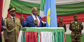 Pierre Nkurunziza lors de sa prestation de serment au parlement de Bujumbura le 20 août 2015