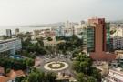 Le quartier du Plateau, à Dakar