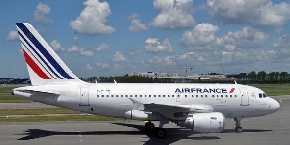 Un avion d'Air France.