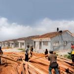 En 2010, le futur président ivoirien Alassane Ouattara a promis la construction de 60 000 logements s'il était élu (ici à Cocody, Abidjan).