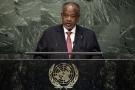 Ismail Omar Guelleh, en septembre 2015 à l'ONU.