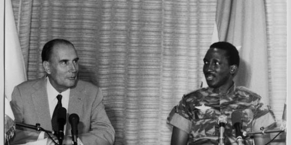 """Résultat de recherche d'images pour """"Thomas Sankara, François Mitterrand"""""""