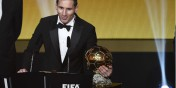 Football : Lionel Messi gagne son cinquième Ballon d'Or