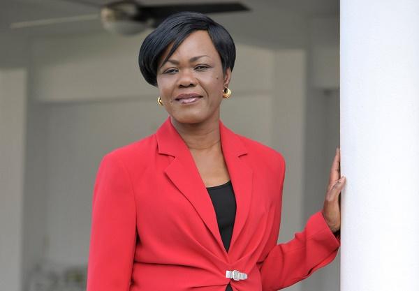 Kaba Nialé, ministre ivoirienne du Plan et du Développement et présidente du bureau des gouverneurs de la BAD,