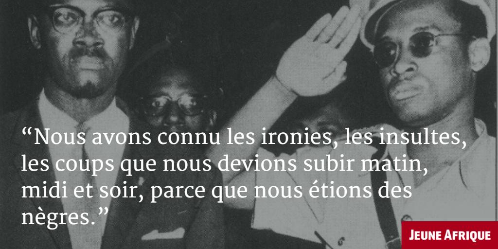 Rdc Patrice Lumumba En 5 Citations Jeuneafrique Com