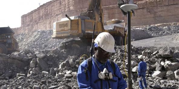 Ici, une mine d'uranium exploitée par Areva, à Arlit au Niger.
