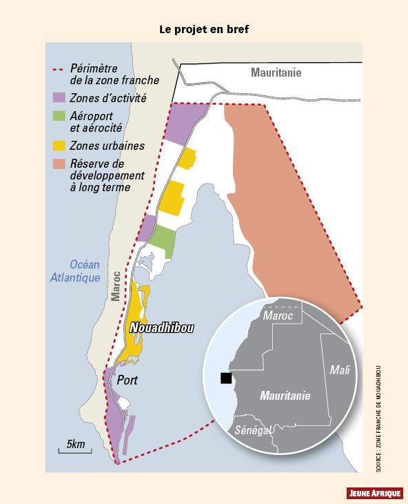 En mauritanie un coup de pouce la zone franche de - Distance en milles nautiques entre 2 ports ...