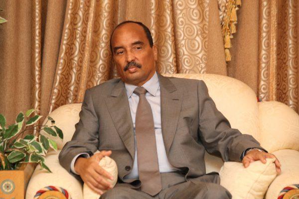 Le président mauritanien Mohamed Ould Abdelaziz.