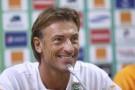 Hervé Renard, sélectionneur français du Maroc.
