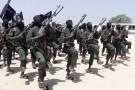 Des rebelles shebab en train de s'entraîner, au sud de Mogadiscio, en Somalie (photo d'illustration)