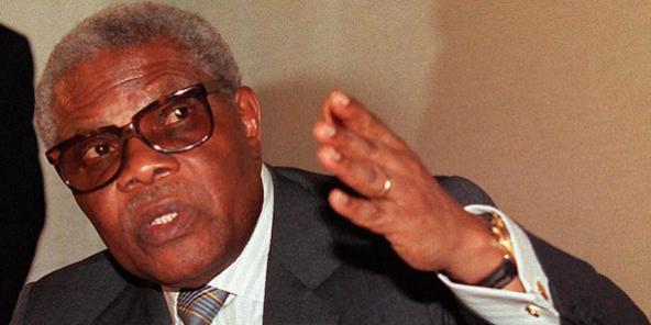 Pascal Lissouba, président du Congo-Brazzaville entre 1992 et 1997.