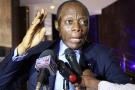 Jean-Marie Michel Mokoko à Brazzaville le 3 mars 2016.